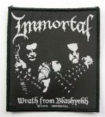 Immortal - 'Wrath from Blashyrkh' Woven Patch